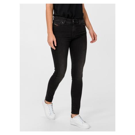 D-Roisin Jeans Diesel Čierna