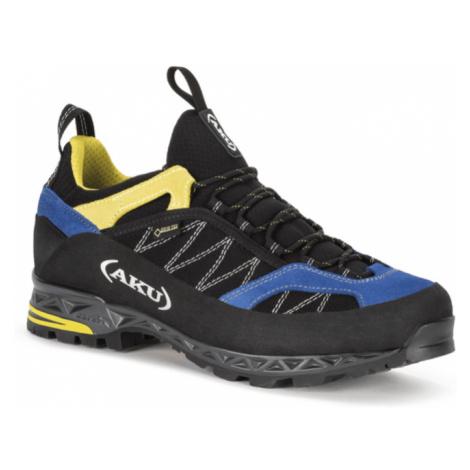Pánske topánky AKU Tengu Low GTX čierno / modro / žlté