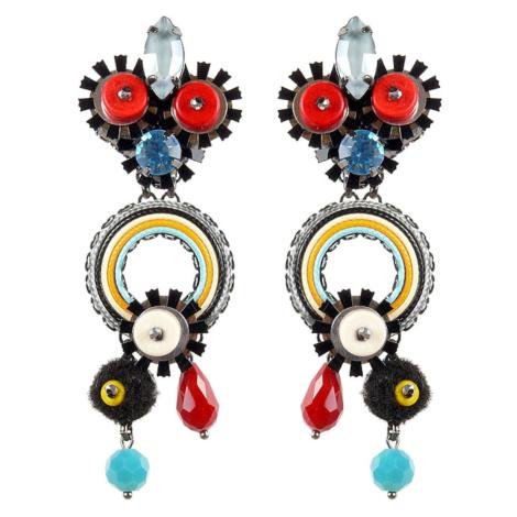 Tatami Woman's Clip Earrings E-Wo008M