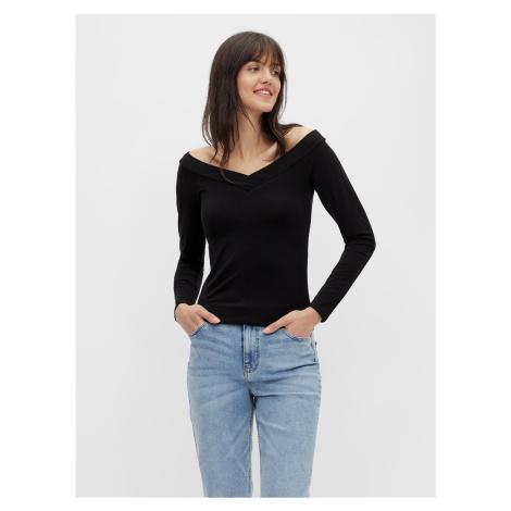 Čierne tričko Pieces Maliva