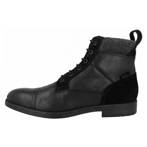 GEOX Pánske členkové topánky U Jaylon Black U94Y7J-04623-C9999