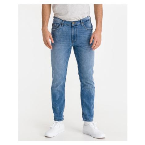 Lee Rider Cropped Jeans Modrá