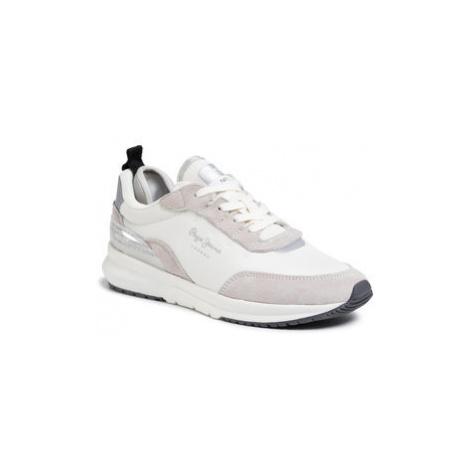 Pepe Jeans Sneakersy N22 Summer PLS31007 Sivá