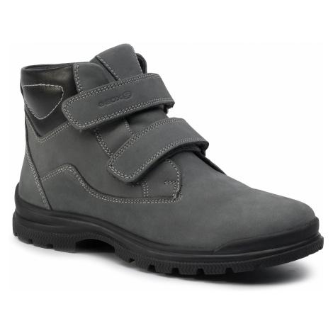 Outdoorová obuv GEOX - J Navado B. C J845HC 032BC C9875 D Dk Grey/Black