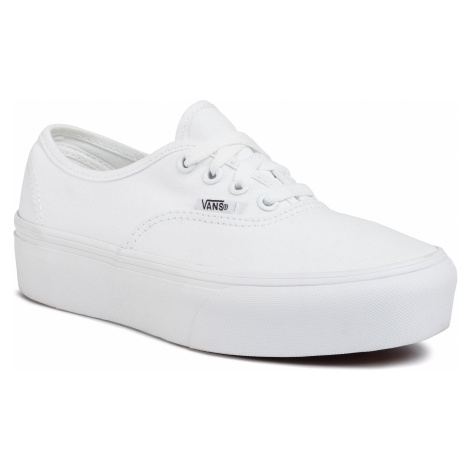 Tenisky VANS - Authentic Platfor VN0A3AV8W001 True White