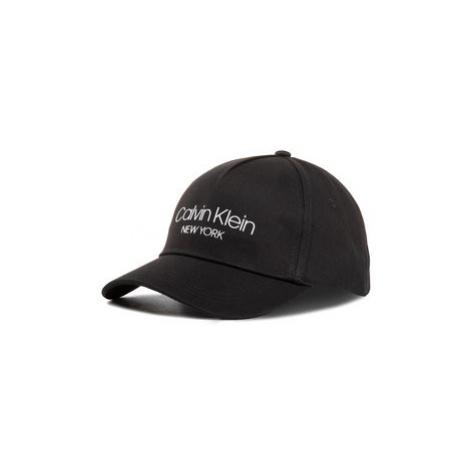 Calvin Klein Šiltovka Ck Ny Bb Cap K60K606381 Čierna