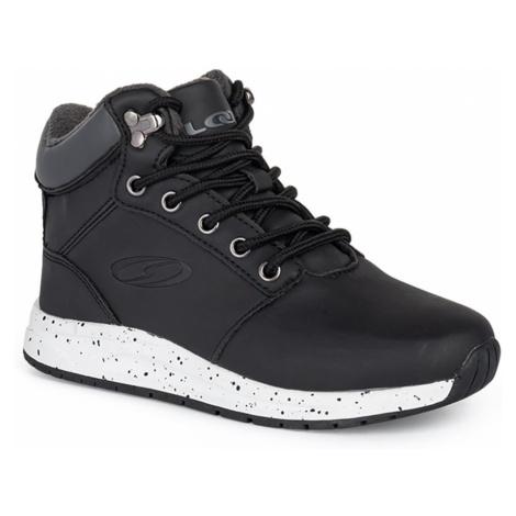 Čierne chlapčenské zimné topánky LOAP