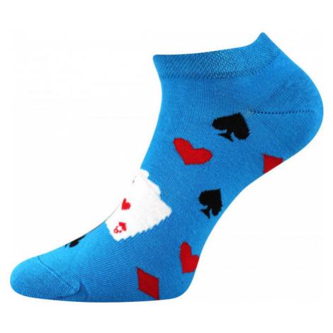 Boma PETTY 010 modrá - Nízke ponožky