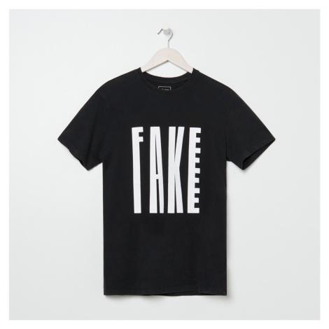 Sinsay - Pánske tričko - Čierna