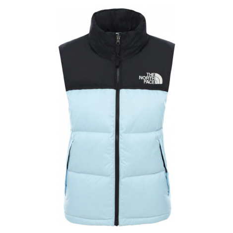 The North Face W 1996 Retro Nuptse Vest Angel Falls Blue-M modré NF0A3XEPJH5-M