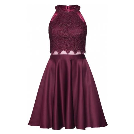 Laona Kokteilové šaty  červená