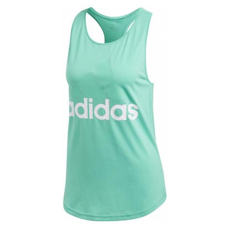 Adidas Essentials Linear Loose Tank zelená