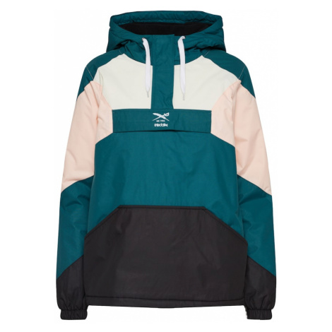 Iriedaily Prechodná bunda  ružová / čierna / béžová / petrolejová