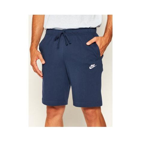 Nike Športové kraťasy Sportswear Club Fleece BV2772 Tmavomodrá Standard Fit