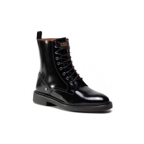 G-Star Raw Členková obuv Corbel Boot D18092-9398-990 Čierna