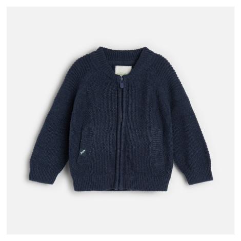 Reserved - Bavlnený sveter na zips