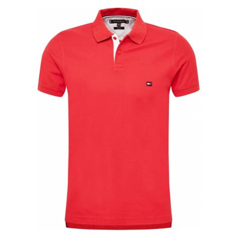 TOMMY HILFIGER Tričko  červená / biela / modrá