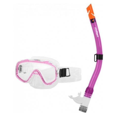 Miton NEPTUN RIVER ružová - Juniorský potápačský set