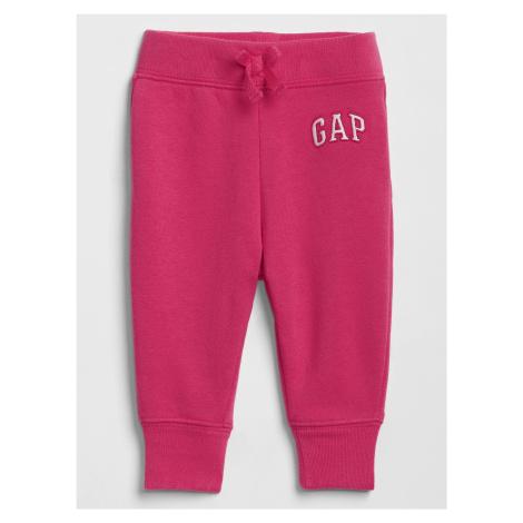 GAP ružové dievčenské tepláky