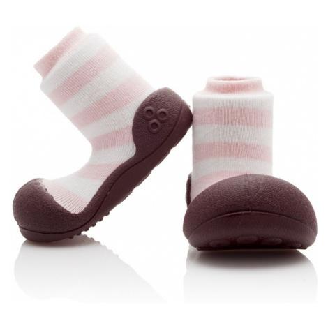 ATTIPAS Topánočky detské Natural Herb Pink