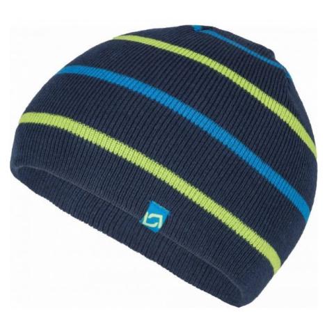 Lewro BENY tmavo modrá - Chlapčenská pletená čiapka