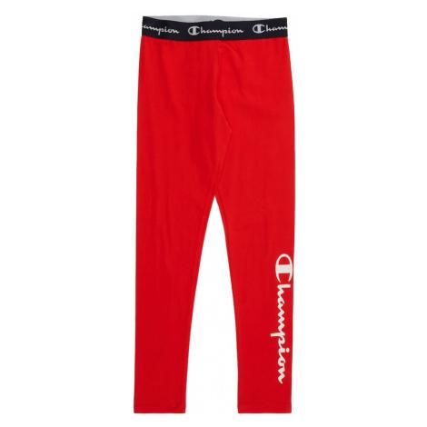 Champion Authentic Athletic Apparel Legíny  červená / čierna / biela / sivá