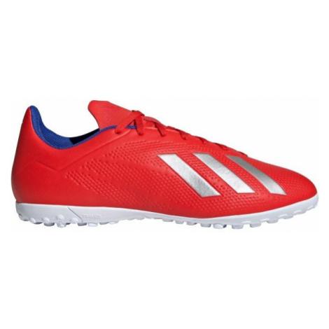 adidas X 18.4 TF červená - Pánske kopačky