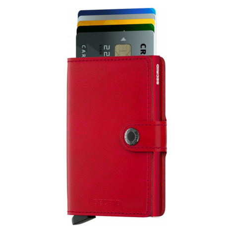Secrid Miniwallet Original Red-Red-One size červené M-RED-RED-One size