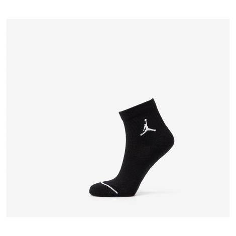 Jordan Everyday Max 3 Pair Ankle Socks Black/ Black/ Black