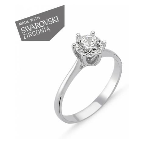 OLIVIE Strieborný zásnubný prsteň EMMA 1728