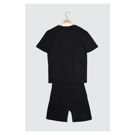 Trendyol Black Men's Tracksuit Suit