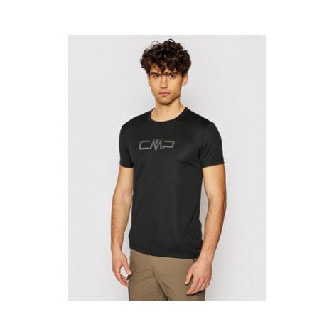 CMP Funkčné tričko 39T7117P Čierna Regular Fit