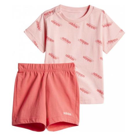 adidas I FAV SS SET ružová - Detská súprava