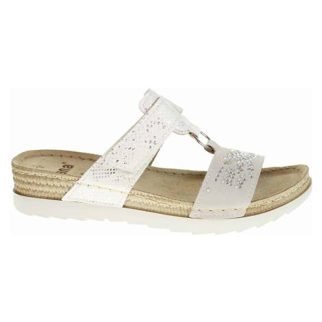 Dámské pantofle Jana 8-27223-34 white 8-8-27223-34 100