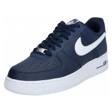 Nike Sportswear Nízke tenisky 'Air Force 1'  tmavomodrá / biela