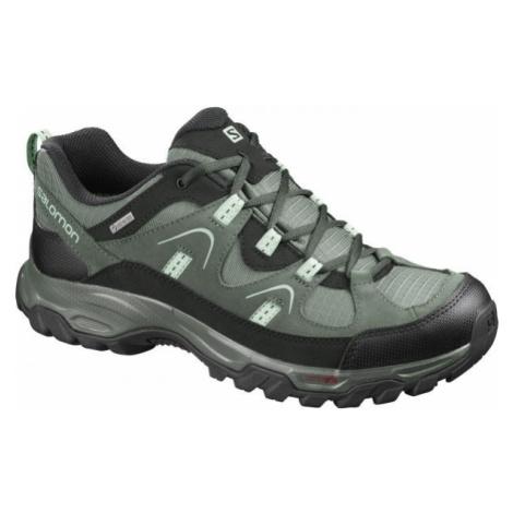 Salomon FORTALEZA GTX šedá - Pánska outdoorová obuv