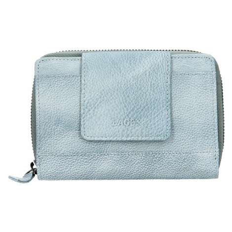 Lagen Dámska kožená peňaženka 931/D Blue Ocean