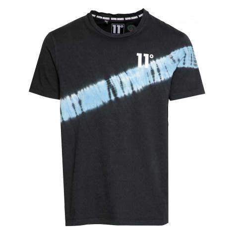 11 Degrees Tričko  biela / čierna / svetlomodrá