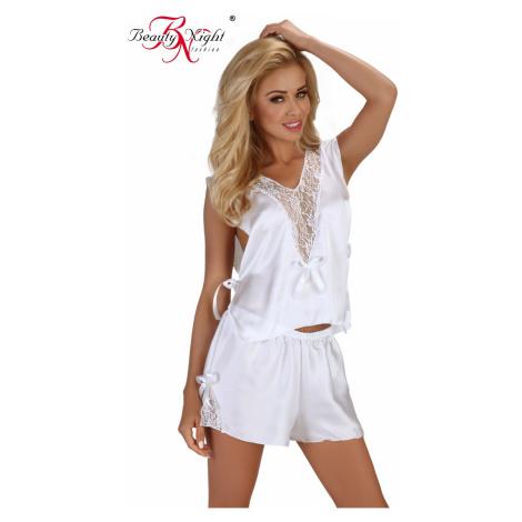 Erotická súprava Mellissa white Beauty Night Fashion