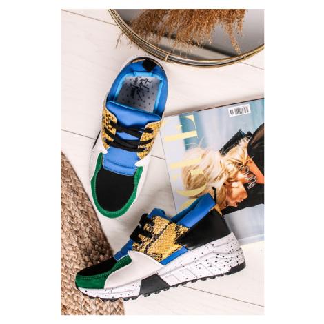 Viacfarebné chunky sneakers tenisky Dorien Sergio Todzi