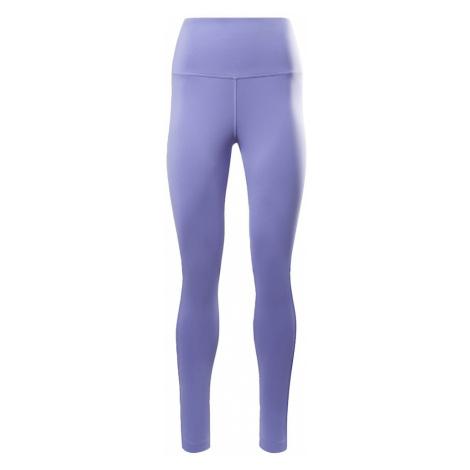 REEBOK Športové nohavice 'Beyond'  čierna / fialová