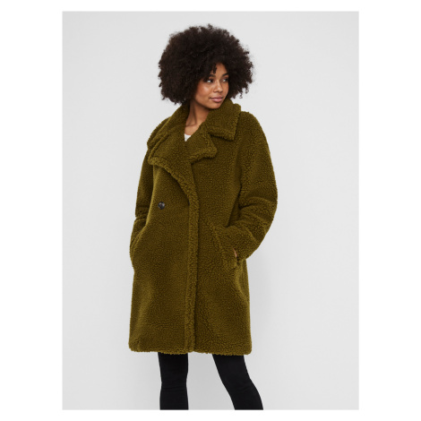 Zelený kabát VERO MODA Lynne