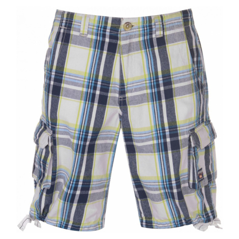 SoulCal Checked Cargo Shorts Mens Soulcal & Co