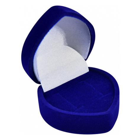 JK Box Modrá darčeková krabička na náušnice F-75 / NA / A14 JKbox