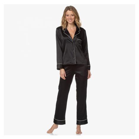 Čierny pyžamový set L/S Pant Set Premium Gift Set Fashion Calvin Klein