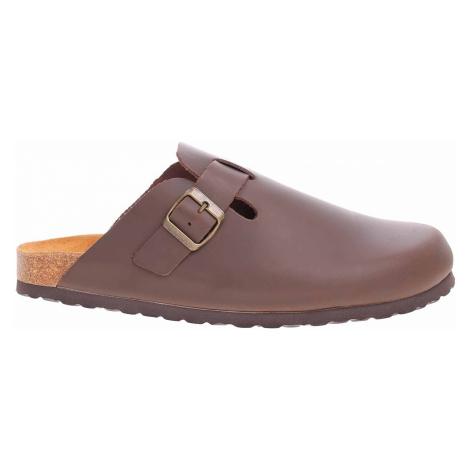 Pánské pantofle Bio Life 0005.759 Lewis 183 dark brown 0005.759 Lewis 183 dark brown