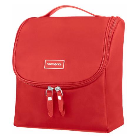 Samsonite Kozmetická taška na zavesenie Karissa CC - červená