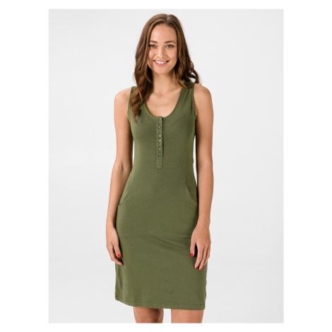 Šaty Loap Nami Zelená