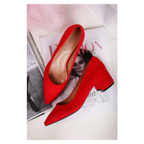 Červené lodičky Tamera Belle Women
