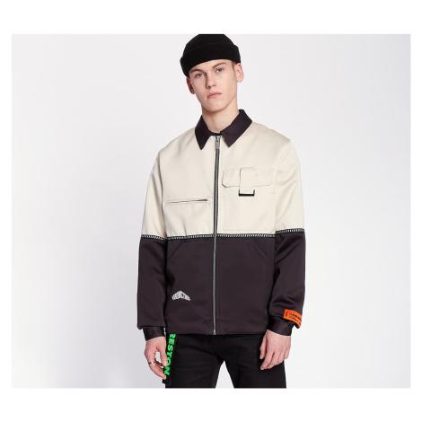 HERON PRESTON Mikado Workers Jacket Black/ White